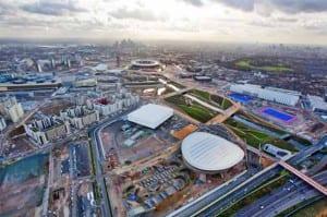 Las ambulancias lo tendrán difícil para transitar por los alrededores del Parqué Olímpico de Londres