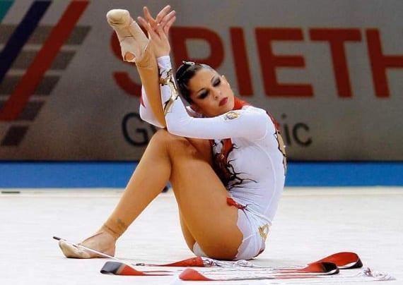 La gimnasta leona Carolina Rodríguez