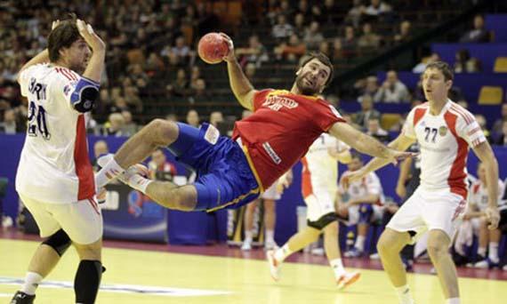 Joan Cañellas, uno de los nuevos valores de la selección de balonmano