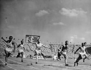 Los 100 metros de los JJOO de Londres 1948
