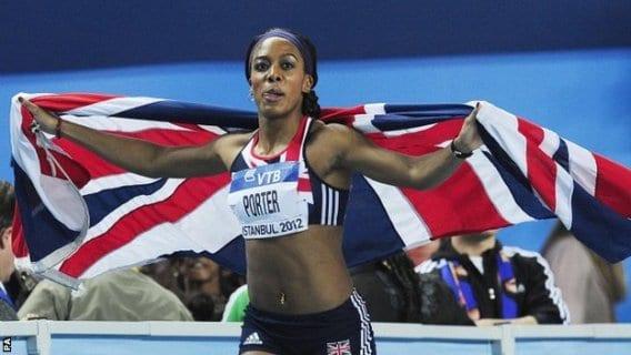 La atleta Tiffany Porter