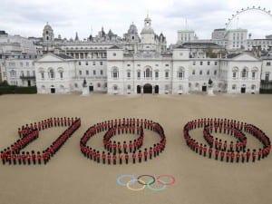 100 días de la inauguración de los Juegos Olímpicos