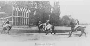 Imagen de polo en los Juegos Olímpicos de París 1900