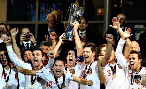 La España olímpica, campeona de Europa sub21