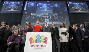 Los miembros de Madrid 2020