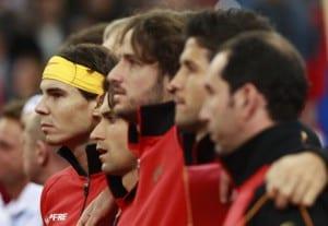 La selección de la Copa Davis