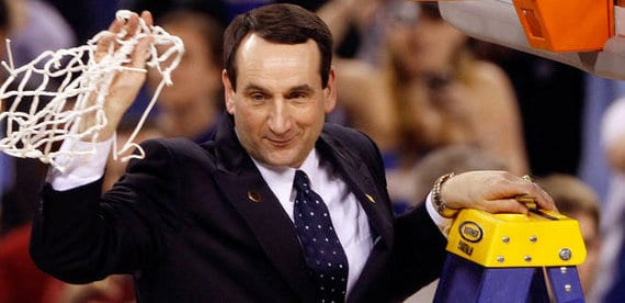 El entrenador de EEUU Mike Kryzewski