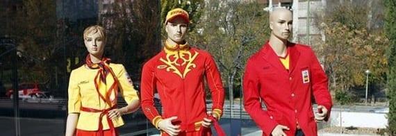 Los uniformes de España en los JJOO de Londres