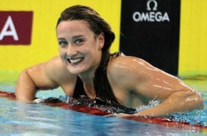 Mireia Belmonte en competición