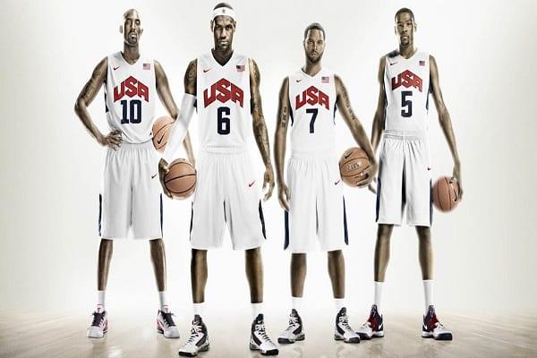 La selección de baloncesto de EEUU