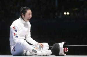 Shin Lam, esgrima