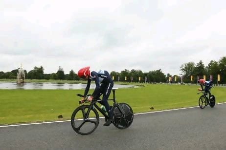 Wiggins con Gran Bretaña