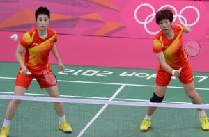 Jugadoras de Badminton