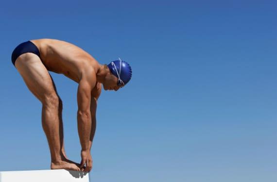 Nadador olíimpico