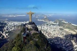 Vista de la ciudad de Río