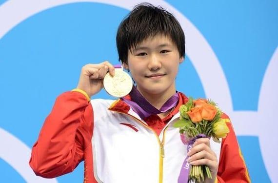 Nadadora olímpica