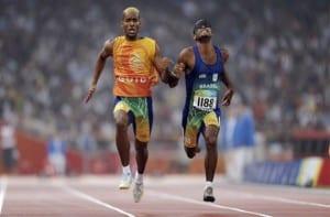 Corredores en Juegos Paralímpicos