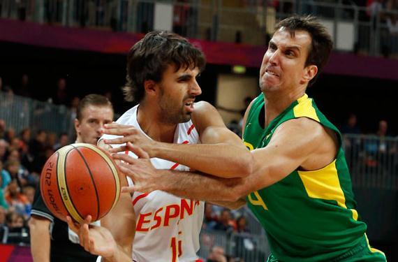 Brasil y España baloncesto Londres 2012