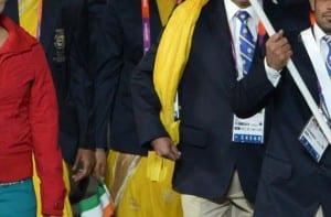 Delegación India JJOO 2012