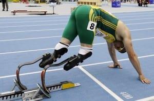 Pistorius en los Paralímpicos de Londres