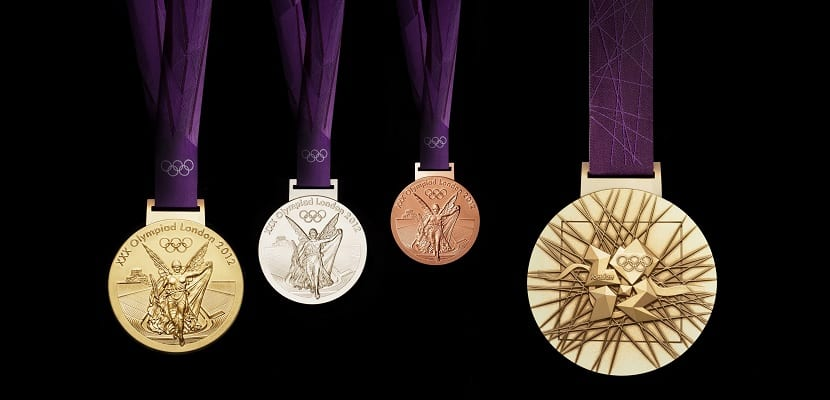 Medallas olímpicas