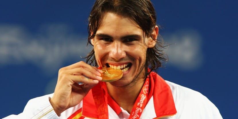 Rafa Nadal medalla olímpica
