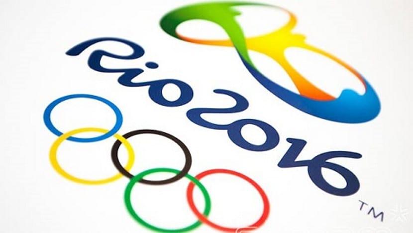 El logotipo de los Juegos Olímpicos de Río 2016