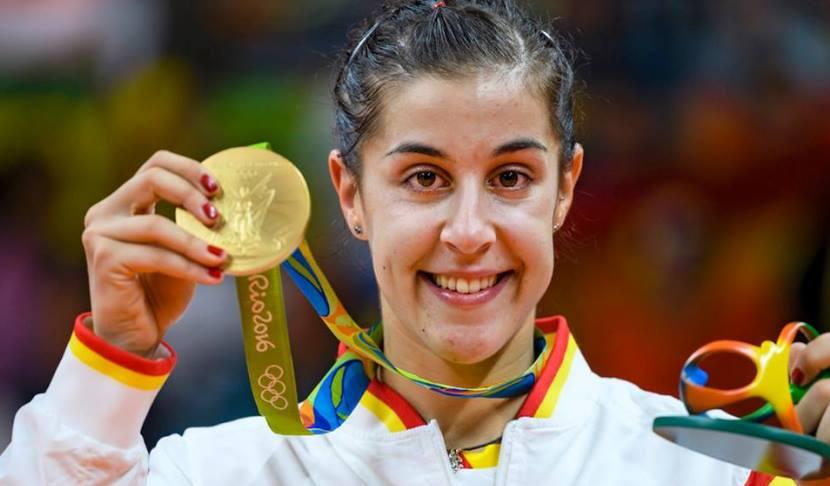 Carolina Marín medalla de oro 1