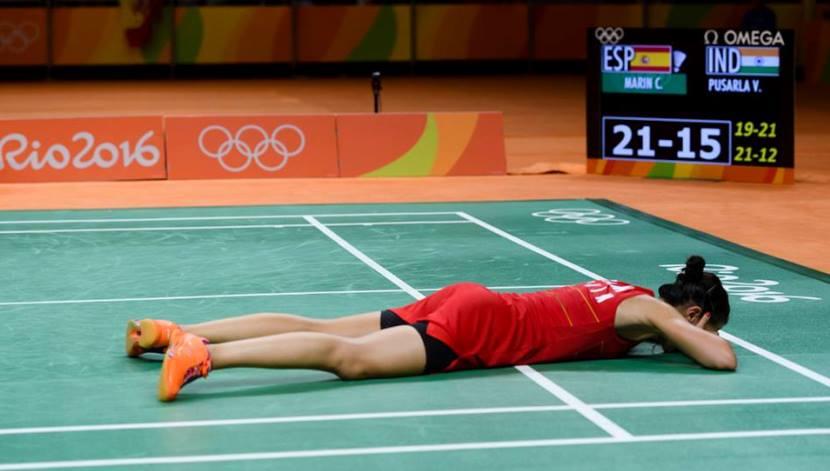 Carolina Marín medalla de oro 5
