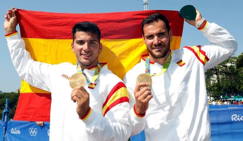 Craviotto y Toro medalla de oro