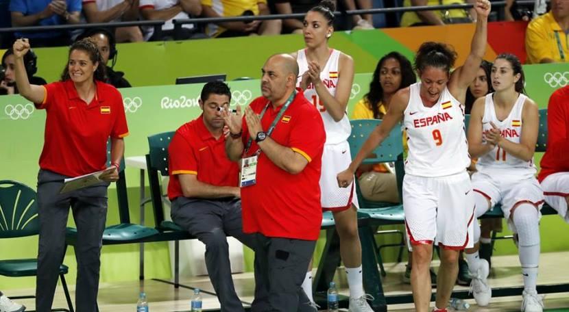 España de baloncesto femenino 1