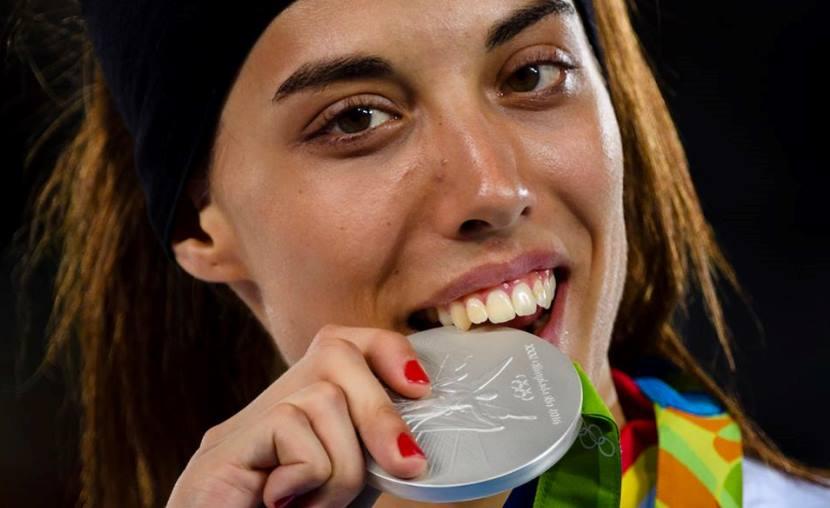 Eva Calvo medalla de plata