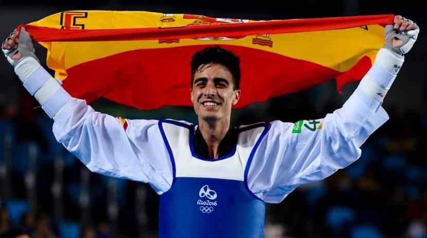 Joel González medalla de bronce