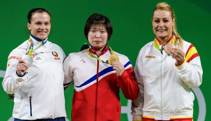 Lidia Valentin medalla de bronce 2