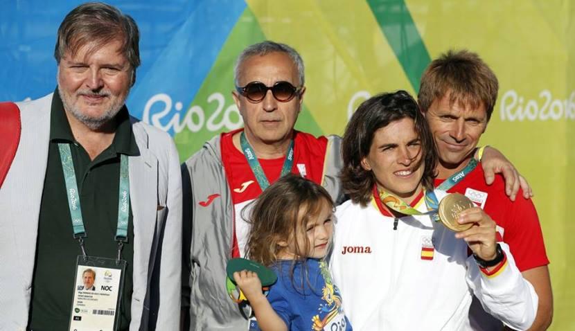 Maialen Chourraut medalla de oro 11