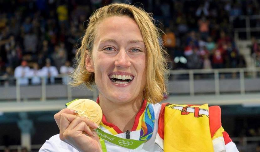 Mireia Belmonte oro olímpico 1