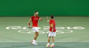 Nadal y López están cerca de conseguir una medalla en dobles