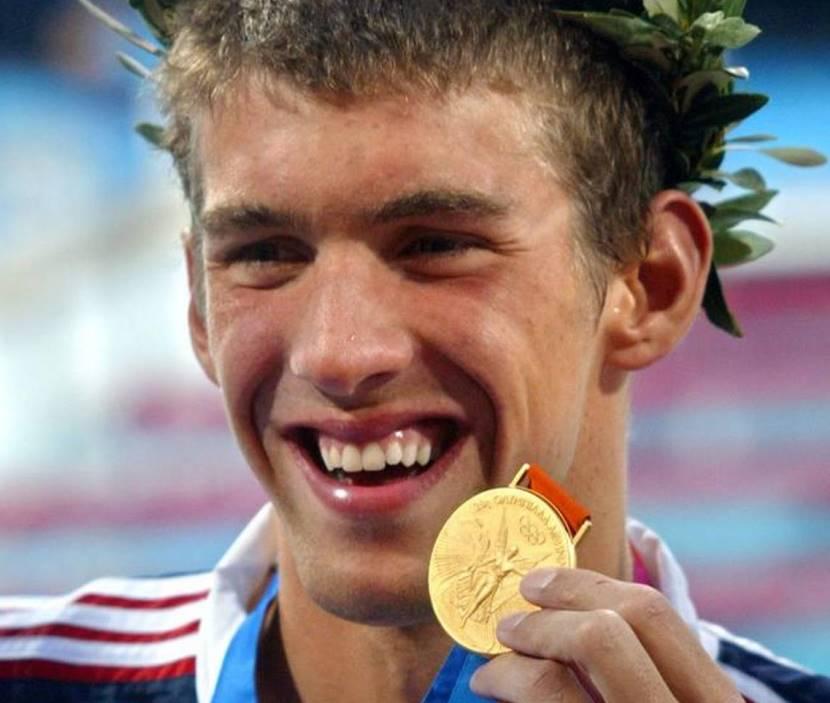 Phelps Atenas 2004