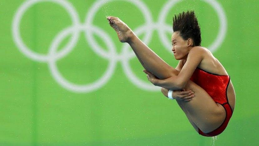 Qian Ren es la más joven en ganar un oro en Río 2016