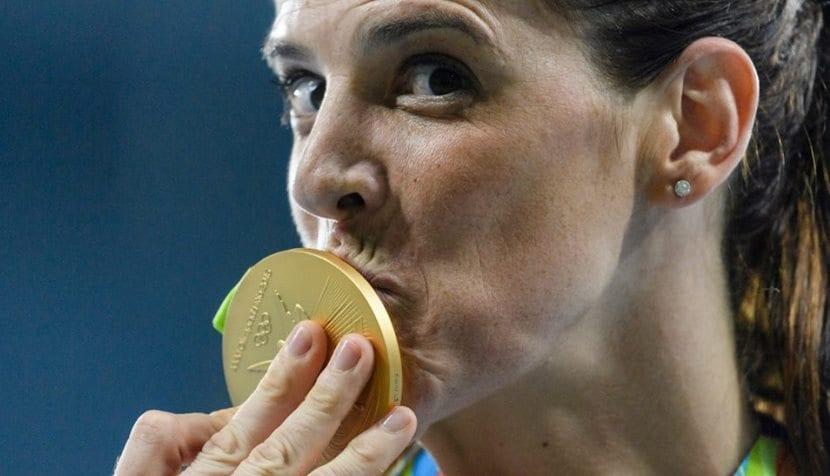 Ruth Beitia medalla de oro 12
