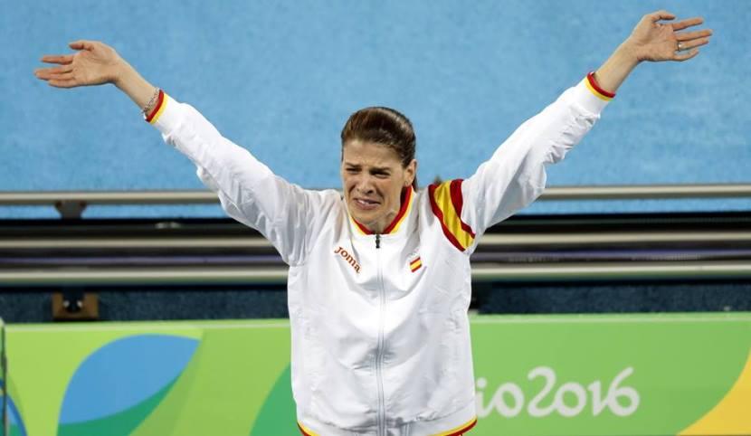 Ruth Beitia medalla de oro 7