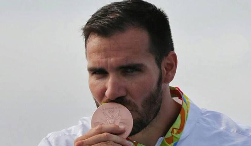 Saúl Craviotto medalla de bronce