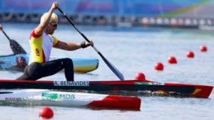 Benavides busca una nueva medalla en piragüismo