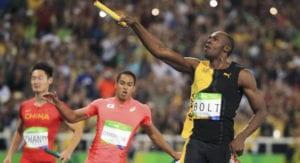 Usain Bolt se va de Río con tres oros