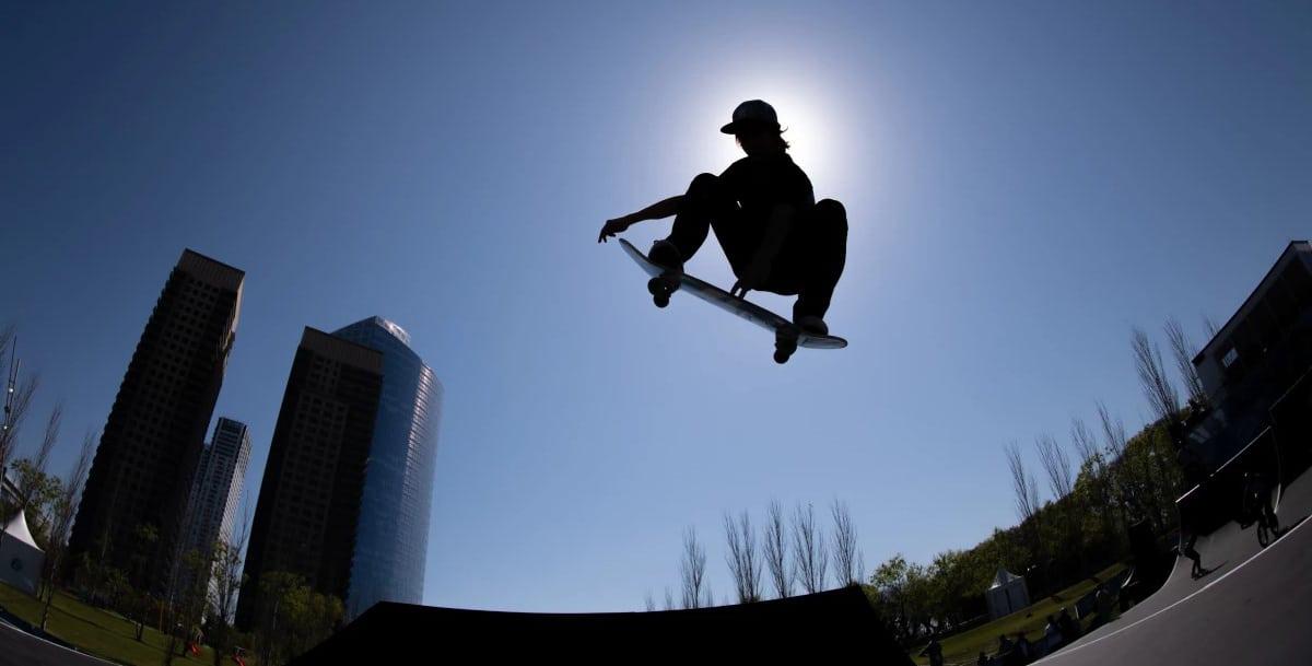 skateboarding en los jjoo