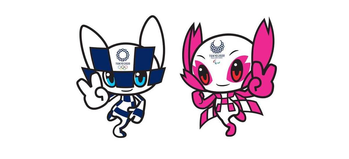 Mascotas de los juegos olímpicos de Tokio